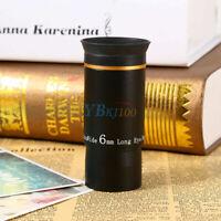 "1.25"" Ultra Wide Angle Eyepiece Lens Focal Length 6mm Muti-Coated Fr Telescope"