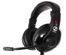 Zalman ZM-HPS200 Gaming Headset, 40mm Driver, Volume Control, Dual 3.5mm