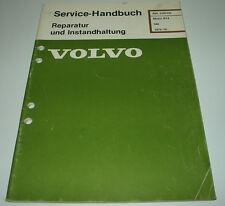 Werkstatthandbuch Volvo 340 Motor B14 / B 14 ab Baujahr 1976!