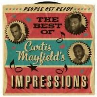 Curtis Mayfield And The Impressions - People Get Ready: The Best Of (NEW 2CD)