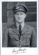 SPBB42 WWII WW2 RAF Battle of Britain pilot THOMPSON DFC signed photo
