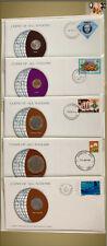 Coins of all Nations - Solomon Island, Australia, Tonga, Tuvalu, New Caledonia