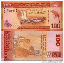 Sri Lanka - 100 Rupees -  UNC currency note - current series