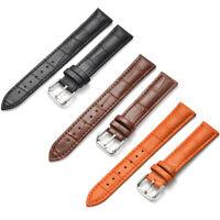 Men Genuine Leather Quick Fit Watch Strap Band 18mm 20mm 22mm 24mm Bracelet Belt