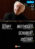 ANDRAS SCHIFF-MOZART SHUKAN 2015-IMPORT DVD WITH JAPAN OBI K03