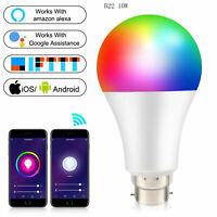 10W Smart Life App Wifi Remote Controlled Color Changing bulb 16 Million RGB