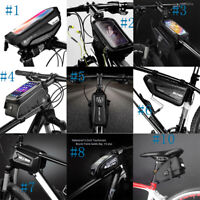 Waterproof Bicycle Front Frame Bag Top Tube Handlebar Pannier Pouch Phone Bag