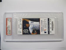 8/15/11 Jim Thome's 600th at Detroit vs. the Twins PSA GEM MT 10 Ticket PSA Cert