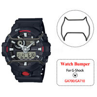 Stainless Steel Matte Black Watch Wire Guard Protector For G-Shock GA700 GA710