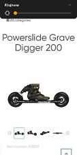 Brand-new Size 8 powerslide grave digger 200 out door