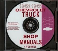 Chevrolet 1963-1966 Pickup, Van, Blazer, Suburban & Truck Shop Manual Cd