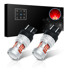SiriusLED 7444 7443 Compact LED Brake Light Tail Light Bulbs 400LMs 52mm 2 Pack