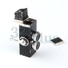 Miniature Photo Camera Dollhouse Scale 1:12 Dollhouse Camera Replica Vintage