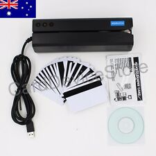 MSR605X Magnetic Stripe Card Reader Writer Encoder Credit Mag Magstripe MSR206
