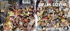 Sufjan Stevens digipak cd album- All Delighted People