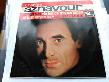 EP CHARLES AZNAVOUR - ET PORTANT - BARCLAY SPAIN 1963 VG+/NM