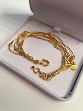 Gurhan 24K Solid Yellow Gold Heavy Bracelet