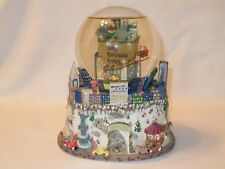 Bloomingdales Big Brown Bag Nyc Central Park, Twin Towers Musical Snow Globe