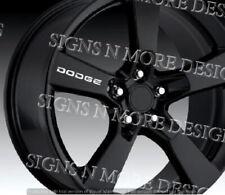 "Dodge Wheels Decal Sticker Door Handle Vinyl 2"" 3"" or 4"" many colors 4 per order"