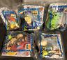 Burger King Kids Club 1998 The Rugrats Movie  Nickelodeon Complete Set Of 5