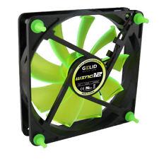 Gelid Gamer 120mmx25mm Case Fan Wing 12 UV Green (Retail Package)