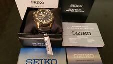 Seiko Srp510 Stargate Gold Black Limited Srp510k1 Diver Watch Superior 200m II
