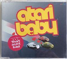 "ATARI BABY ""That Ain't Bad"" 2001 7Trk CD *RatCat Dance Cover *Simon Day"