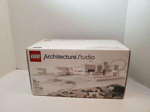 LEGO 21050 Architecture Studio Retired Set Brand New Open Box Sealed Bags 100%