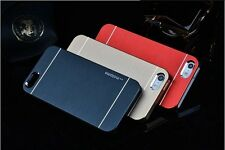 Luxury Brushed Aluminum Steel  Hard Metal Cover Case For Apple iPhone 5 5S