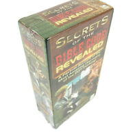 Secrets of the Bible Code Revealed Double 2 VHS Set 1999 Dr Kass Rare NEW