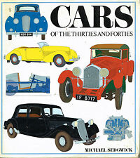 livre automobile: Michael Sedgwick: cars of the thirties and forties. nordbok
