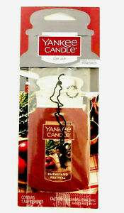 Yankee Candle Car Jar True to Life Fragrance Farmstand Festival Scent Contains 1