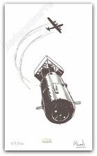 Ex-libris Alcante La Bombe Brusel Signé 200ex 16,6x27,5 cm