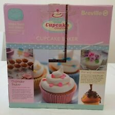 Breville Cupcake Baker Maker with Accessories Pink VTP100 Homemade Baking