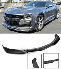 For 19-Up Camaro LT LS RS SS V8 ABS Plastic ZL1 Style Front Bumper Lip Splitter