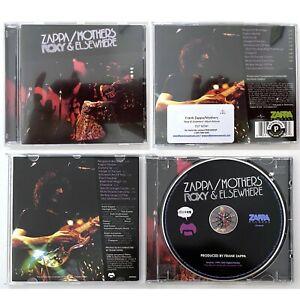 FRANK ZAPPA & THE MOTHERS Roxy & Elsewhere - Zappa Records Promo CD (1992)