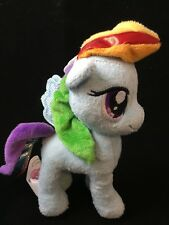 "Hasbro My Little Pony Rainbow Dash Plush with Tags 7"" 2014 Sparkly Wings Tail"