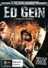 Ed Gein (DVD) HORROR True Story Inspired Psycho Texas Chainsaw [NEW/SEALED] R4