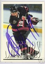 ALEXEI YASHIN 1996 TOPPS Ottawa Senators  AUTOGRAPHED HOCKEY CARD JSA