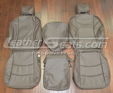 2009 - 2012 Dodge Ram Crew Cab Custom Leather Trimmed Upholstery Seat Covers