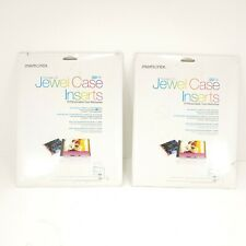 2 Boxesmemorex Printable Cd Jewel Case Insert 100 Pack Open Box