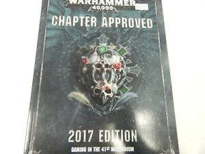 Games Workshop Warhammer 40,000 CHAPTER APPROVED 2017 EDITION