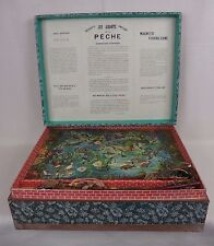 ancien jeu de la pêche aimanté / antique magnetic fishing game / saussine
