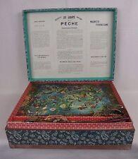ancien jeu de la pêche aimanté / antique magnetic fishing game / saussine