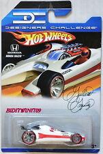 HOT WHEELS 2007 DESIGNERS CHALLENGE HONDA RACER WHITE