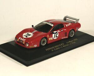 1:43 Ferrari BB512 #72 Le Mans 1982 IXO
