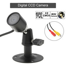 6mm HD 1280P Mini CCTV Camera 8IR Lights Black 600TVL 1/3CMOS Night Vision