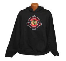 Reebok NHL Licensed Chicago Blackhawks Hoodie - Black - Mens - L