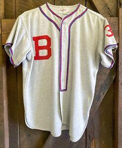 Antique Vintage Rawlings Baseball Uniform Jersey Pants Socks 1940s - 1950s?