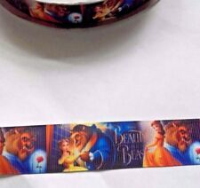 Beauty & the Beast in ribbon, 25 mm (2 metre), ideal for bows, cakes & crafts